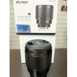 Obiettivo VILTROX AF 85mm F1.8 II per mirrorless Fujifilm X *EX-DEMO*