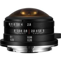 Obiettivo Laowa 4mm f/2.8 Fisheye per fotocamere micro quattro terzi