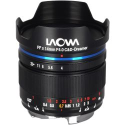 Obiettivo Laowa 14mm f/4 FF RL Zero-D per mirrorless Nikon Z