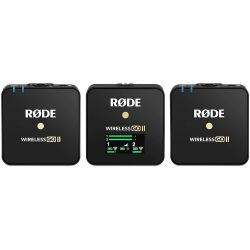Rode Wireless GO II Microfono kit ricevitore + due trasmettitori
