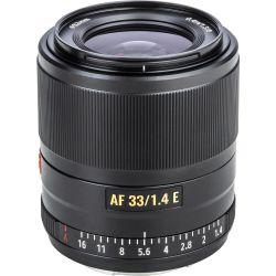 Obiettivo Viltrox AF 33mm f/1.4 per mirrorless Sony E