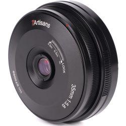 Obiettivo 7Artisans 35mm f/5.6 Pancake per mirrorless Sony E