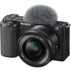Fotocamera Mirrorless Sony ZV-E10 kit 16-50mm [MENU ENG]
