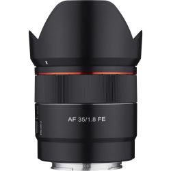 Obiettivo Samyang AF AutoFocus 35mm f/1.8 FE per mirrorless Sony