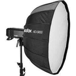 Godox Parabolic Softbox 65cm AD-S65W (bianco) con attacco per flash AD400PRO