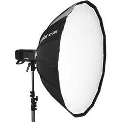Godox Parabolic Softbox AD-S85W 85cm (bianco) con attacco per flash AD400PRO