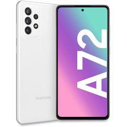 Smartphone Samsung Galaxy A72 LTE A725 Dual Sim 6GB RAM 128GB Bianco