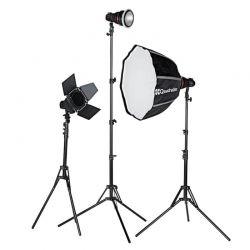 Quadralite SVL-400 LED 3 light kit (led + accessori)