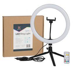 Quadralite Faretto LED circolare ring da 12''