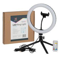 Quadralite Faretto LED circolare ring da 10''