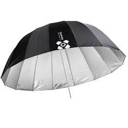 Quadralite Deep Space 105 ombrello parabolico argento