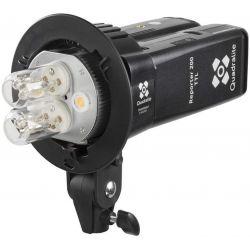 Quadralite Reporter 200 doppia testa kit 2 lampade per flash