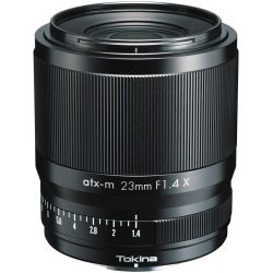 Obiettivo Tokina ATX-M 23mm F1.4 X per mirrorless Fujifilm
