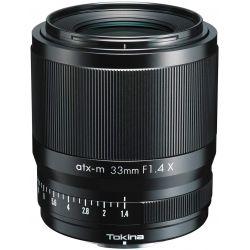 Obiettivo Tokina ATX-M 33mm F1.4 X per mirrorless Fujifilm