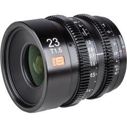 Obiettivo Viltrox 23mm T1.5 Cine per mirrorless Sony E