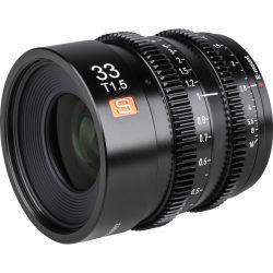 Obiettivo Viltrox 33mm T1.5 Cine per mirrorless Sony E