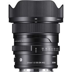 Obiettivo Sigma 24mm f/2 DG DN Contemporary per Panasonic Leica Sigma con attacco L