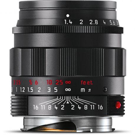 Obiettivo LEICA SUMMILUX-M 50mm f/1.4 ASPH Nero Edizione Cromata