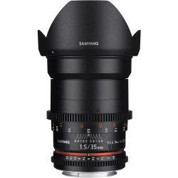 Obiettivo Samyang 35mm T1.5 VDSLR compatibile Sony A-Mount - PRONTA CONSEGNA