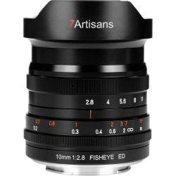 Obiettivo 7Artisans 10mm F/2.8 Fisheye per mirrorless Nikon Z