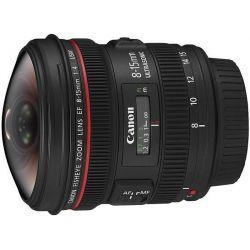 Obiettivo Canon EF 8-15mm 8-15 f/4L f4L Fisheye USM