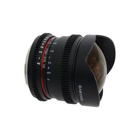 Obiettivo Samyang 8mm T3.8 Asph IF MC Fisheye CS VDSLR per anon
