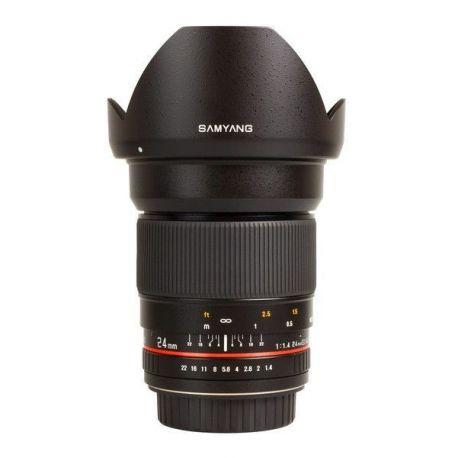 Obiettivo Samyang 24mm 24 f/1.4 f1.4 ED AS UMC x Canon
