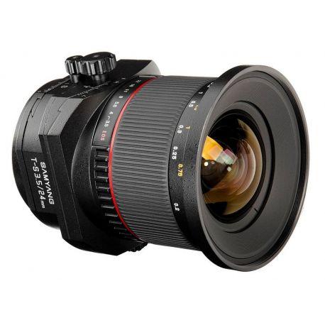 Obiettivo Samyang T-S 24mm f/3.5 ED AS UMC Tilt / Shift x Nikon