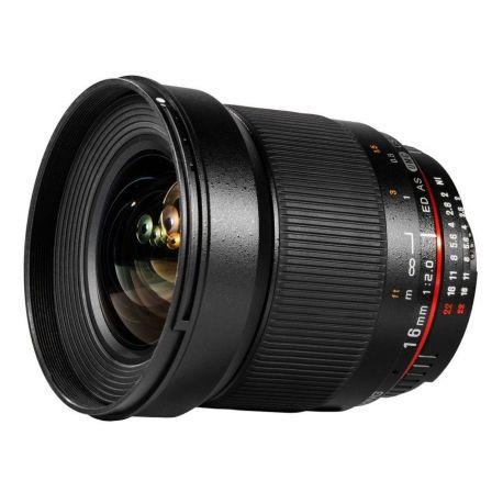Obiettivo Samyang 16mm f/2.0 ED AS UMC CS x Nikon Lens