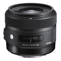 Obiettivo Sigma 30mm F1.4 EX DC HSM Art x Canon Lens
