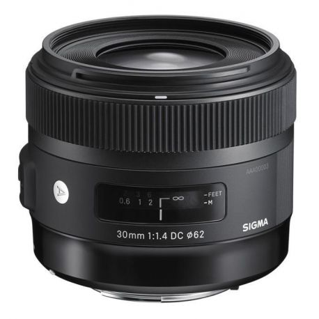 Obiettivo Sigma 30mm F1.4 EX DC HSM Art attacco Canon