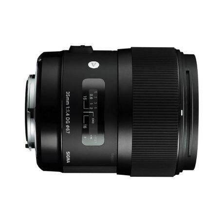 Obiettivo Sigma 35mm F1.4 DG HSM Art per Canon