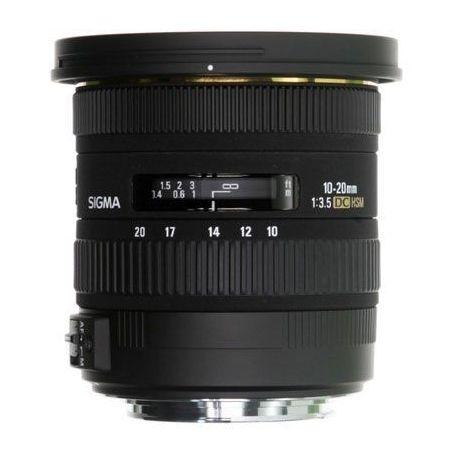 Obiettivo Sigma DC 10-20mm F3.5 EX HSM x Nikon 10-20 mm F 3.5