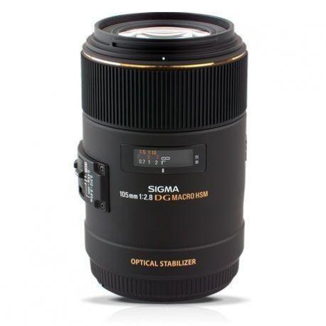 Obiettivo Sigma 105mm MACRO F2.8 EX DG OS HSM per Nikon