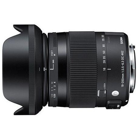 Obiettivo Sigma 18-200mm F3.5-6.3 DC Macro OS HSM Contemporary x Nikon Lens 18-200