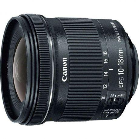 Obiettivo Canon EF-S 10-18mm f/4.5-5.6 IS STM