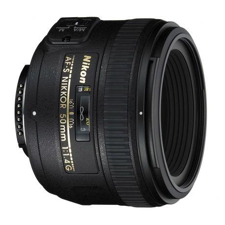 Obiettivo Nikon AF-S Nikkor 50mm f/1.4G Lens
