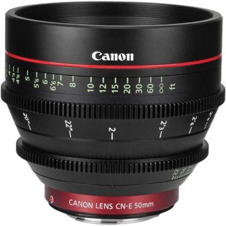 Obiettivo Canon CN-E50mm T1.3 L F Video Lens