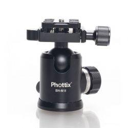 Phottix Testa a sfera x treppiedi Ballhead BH-M II