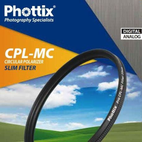 Filtro Phottix CPL-MC Polarizzatore Circolare Multi-Coated Slim Filter 55mm