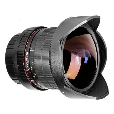 Obiettivo Samyang 8mm f/2.8 Fish-eye CS II compatibile Fujifilm X