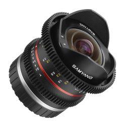 Obiettivo Samyang 8mm T3.1 V-DSLR UMC Fish-eye II x Sony E-mount