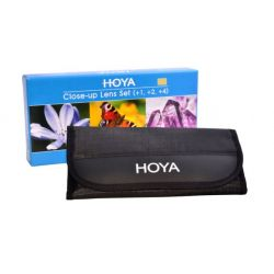 HOYA Close-Up Set (+1,+2,+4) 55mm HOY CUSH55