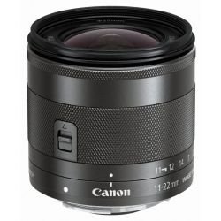 Obiettivo Canon EF-M 11-22mm F4-5.6 IS STM per EOS M