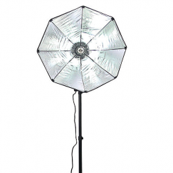 FotoQuantum StudioMax Kit Daylight 450 + Softbox Ottagonale 55cm