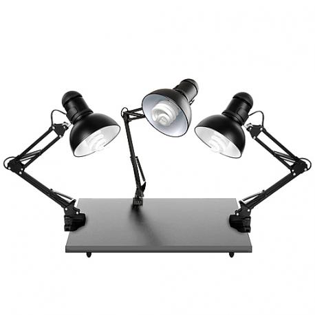 FotoQuantum StudioMax Daylight Set 125/125/125W