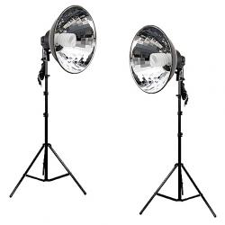 FotoQuantum StudioMax Kit Daylight 450/450 con riflettori
