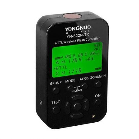Yongnuo YN-622N-TX LCD Wireless i TTL Flash Controller Trigger per Nikon YN622NTX