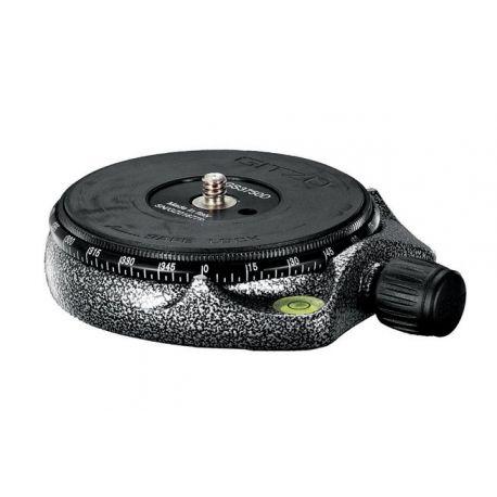 Gitzo Nuova testa panoramica con bolla e anello micrometrico GS3750D
