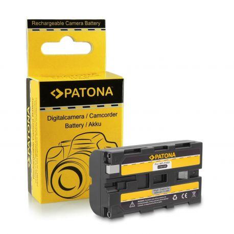 Patona kit Caricabatteria + Batteria NP-F550 per Sony
